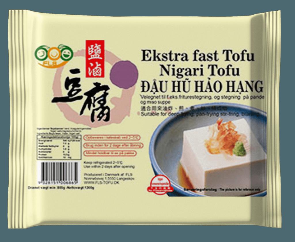 FLS Tofu - Nigari Tofu - Ekstra fast tofu
