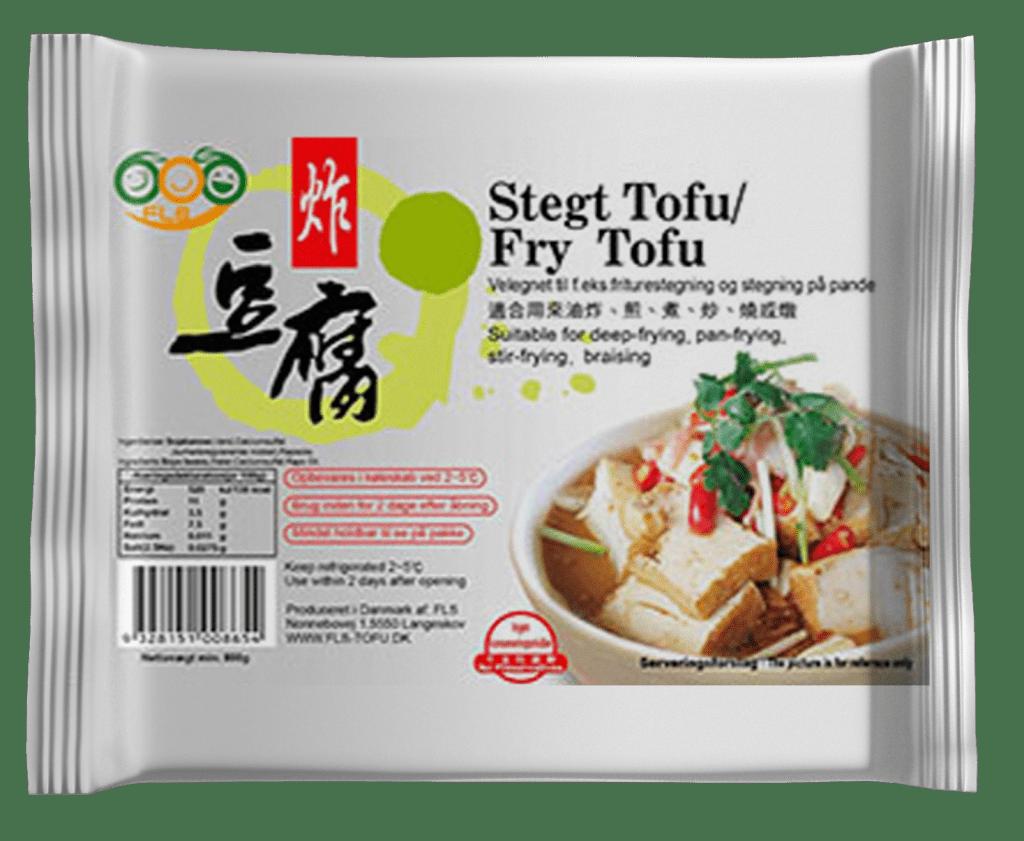 FLS Tofu - Stegt Tofu - fry tofu